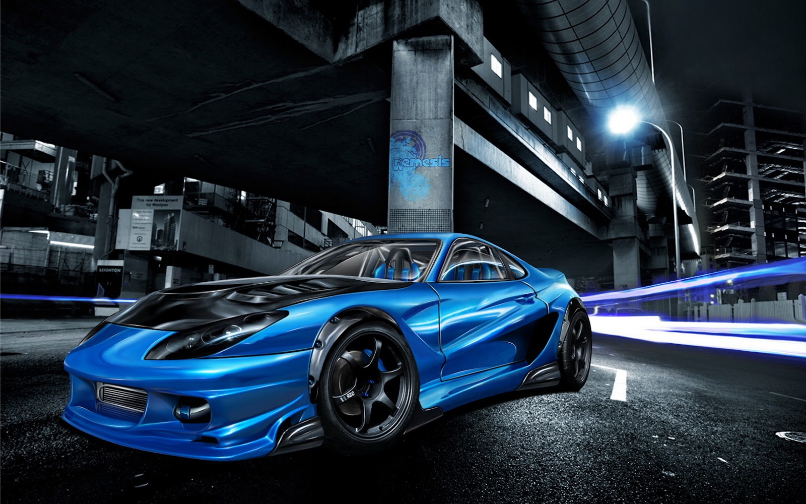 Sunhayoon: street racing cars wallpaper