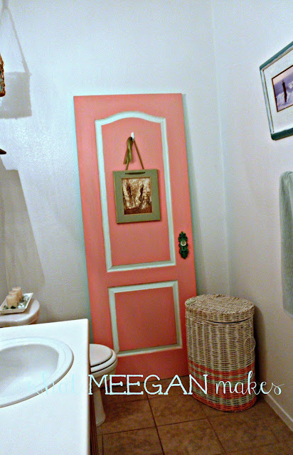 "Thrifted ""Bathroom"" Door"