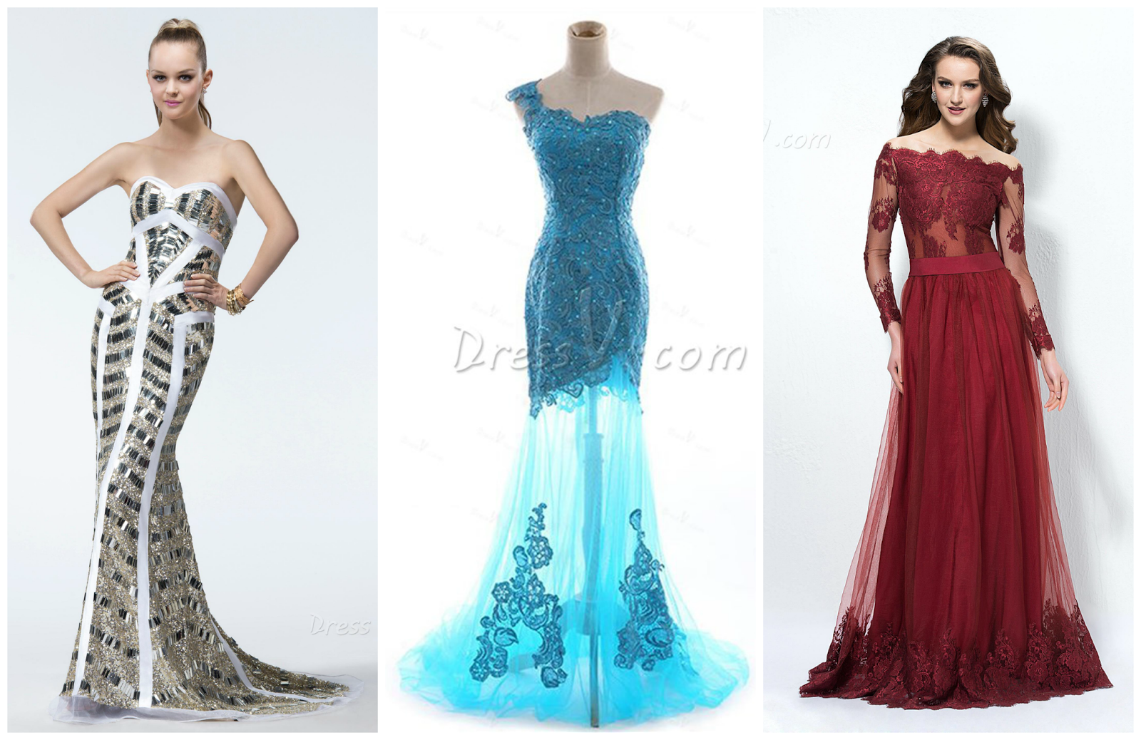 Sand Under My Feet: Discount Evening Dresses 2014 by DressV