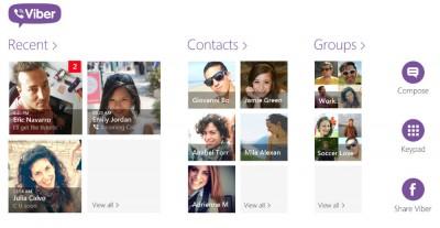 Viber Segera Hadir di Windows 8