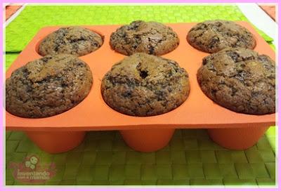 Cupcake de Chocolate com Pistache