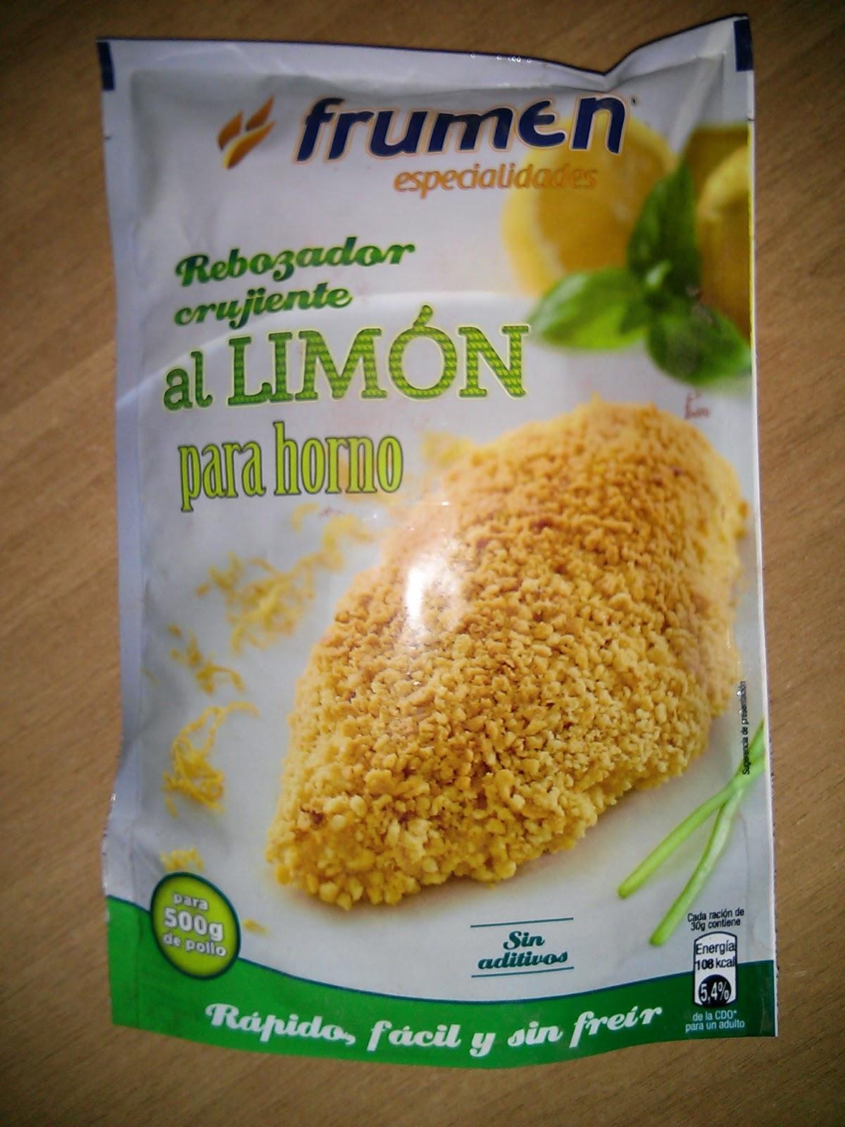 rebozador crujiente al limón