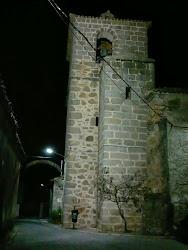 Campanario visto de noche