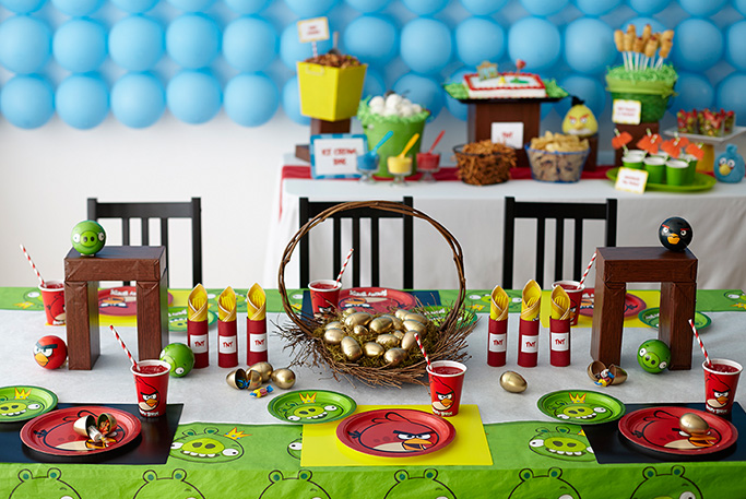 Angry birds party amy latta creations for Angry birds party decoration ideas