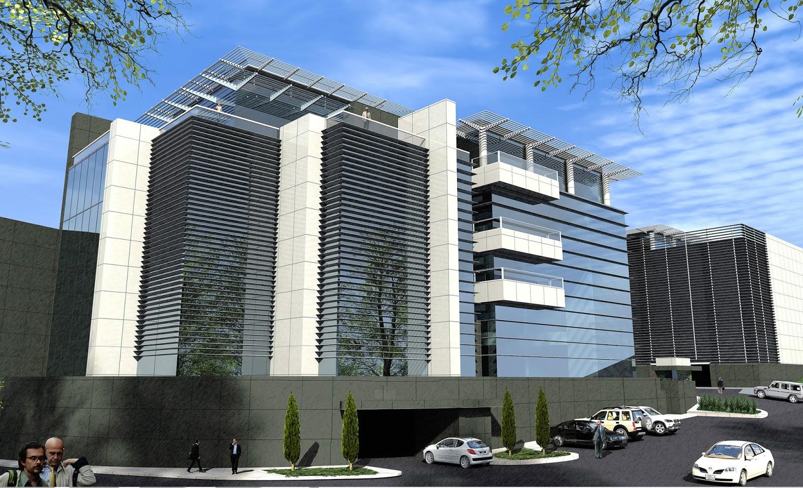 arquetipo edificio corporativo terra un avance en la On empresas de arquitectura