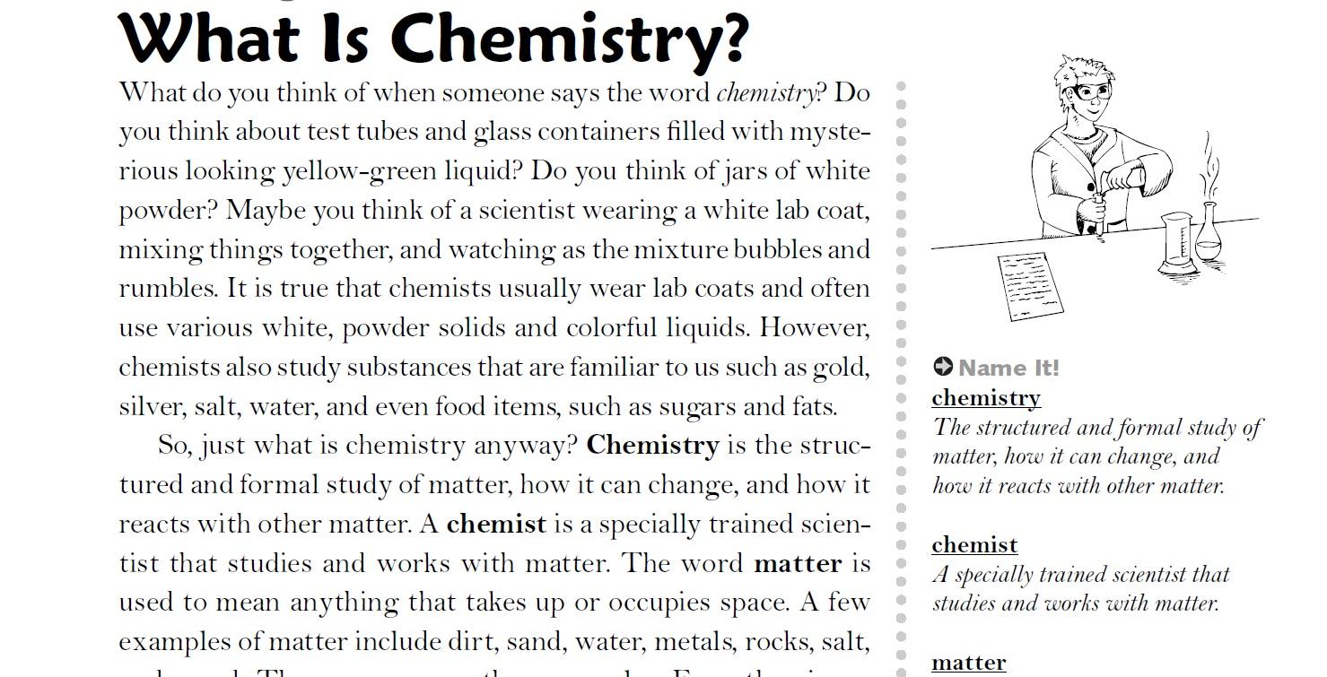 Chemistry Vocab Week 1 4 - Lessons - Tes Teach