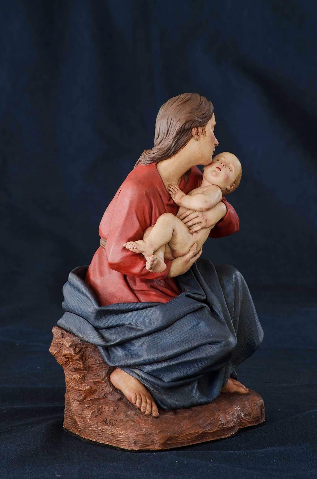 Nacimiento Belén Nativity presepe krippe Arturo Serra Barro cocido 26