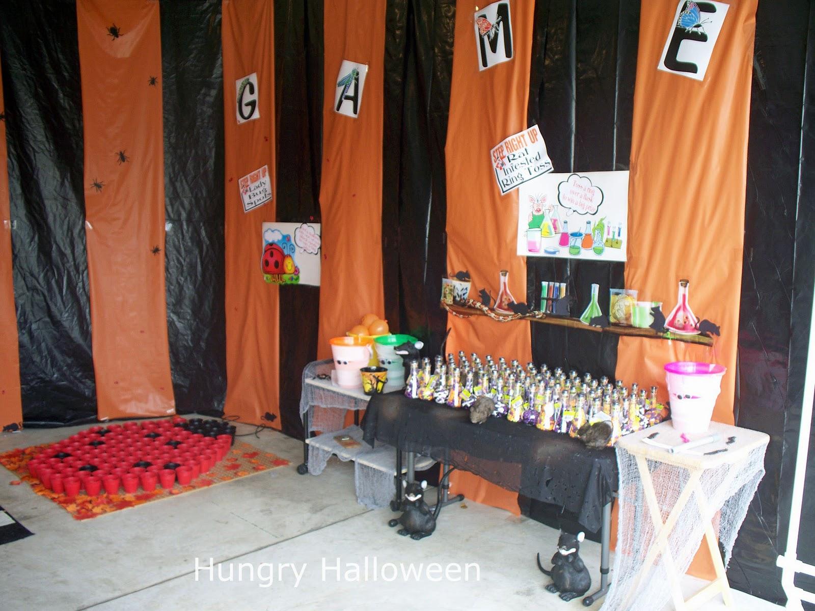 scary carnival ideas