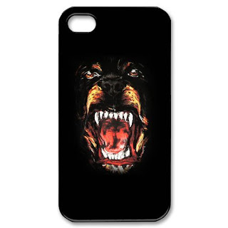 GIVENCHY ROTTWEILER Apple Iphone 4 4s Hard Cover Case 2