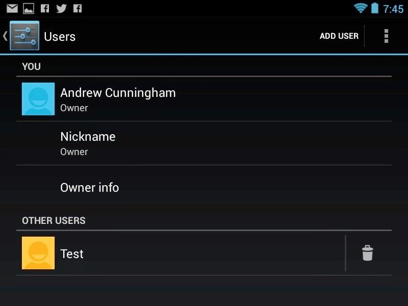 Android Çoklu Kullanıcı Modu Nedir?
