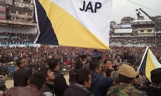 Jan Andolan Party (JAP) flag