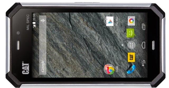 "Cat S50 - smartphone ""hầm hố"""