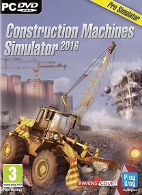 Construction Machines Simulator 2016-SKIDROW FOR PC cover