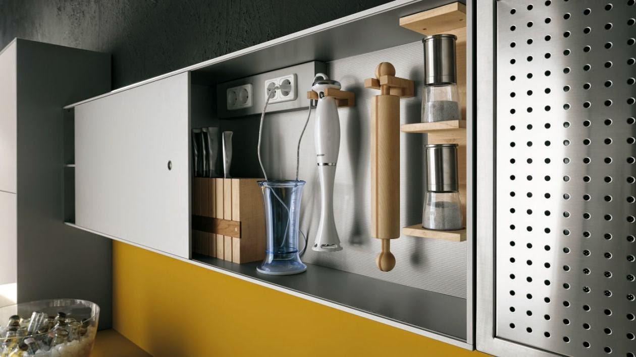 Sistemas de apertura para muebles altos por cu l for Puertas para espacios reducidos