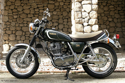 Yamaha SR400 35th Anniversary Edition