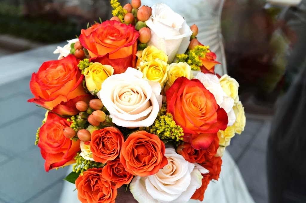 Growing Flowers For An October Wedding : Colorful fall wedding flowers