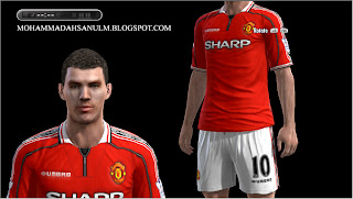 Classic Manchester United Home Kits by Pilki02