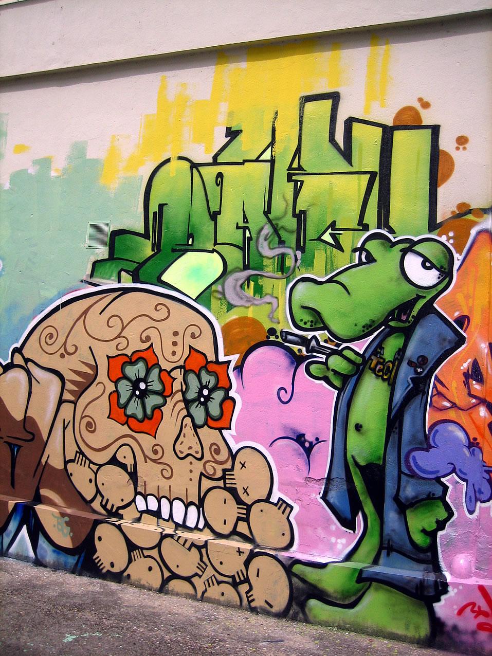 Y Graffiti Letters EL RAP Y LOS RAPEROS