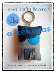 O-ké Casita Llavero!!!
