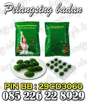 obat pelangsing badan, produk pelangsing tubuh, pelangsing herbal alami