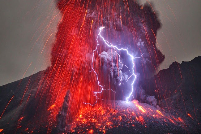 Volcanic Lightning Aka Dirty Thunderstorms