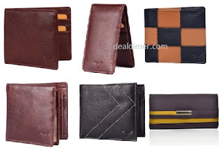 Upto 75% Off on Hidekraft wallets from Rs. 179 – FlipKart