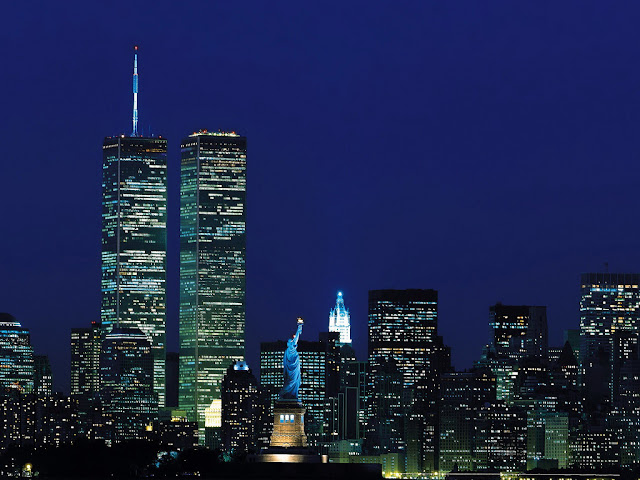 Newer picture of the World Trade Center, New York City