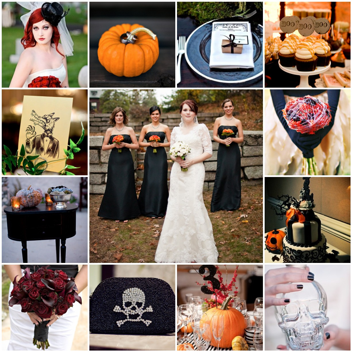 Halloween Weddings: The Blushing Bride