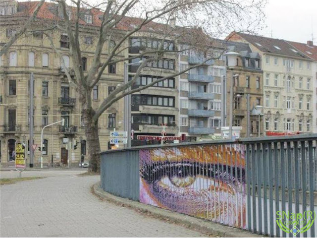 Hidden Street Art on Fences by Zebrating