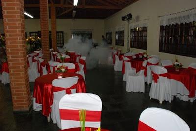 decoração para buffet de casamento