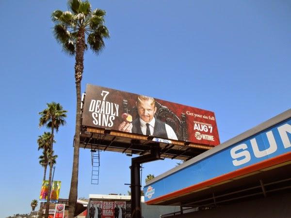 7 Deadly Sins series launch billboard