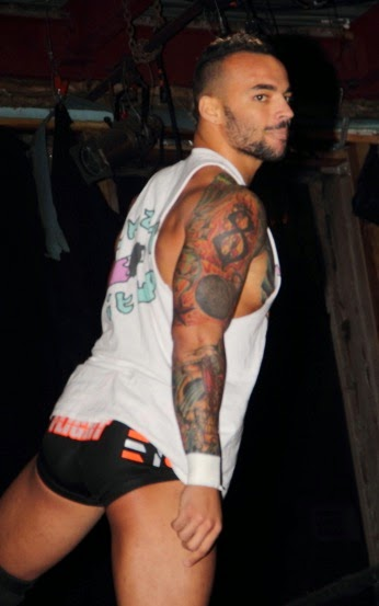 Beefcakes of wrestling body shots tattoos for Corey graves tattoos