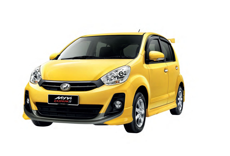 Perodua Myvi 1.5 SE & EXTREME - Promosi Hebat 2013