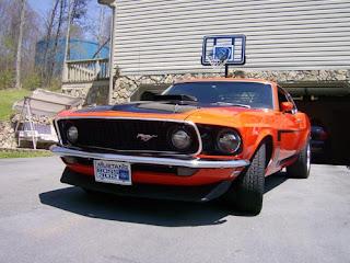 1969 Mustang Boss 302 Steve Pic