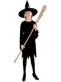 Pige Hekse kostume