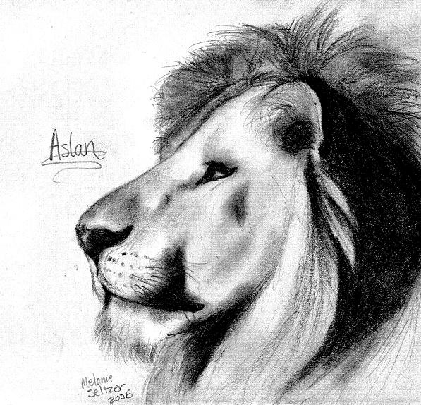 Aslan the legendary lion narnia coloring sheet