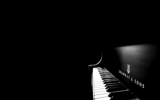 Steinway and Sons Piano in Dark HD Wallpaper