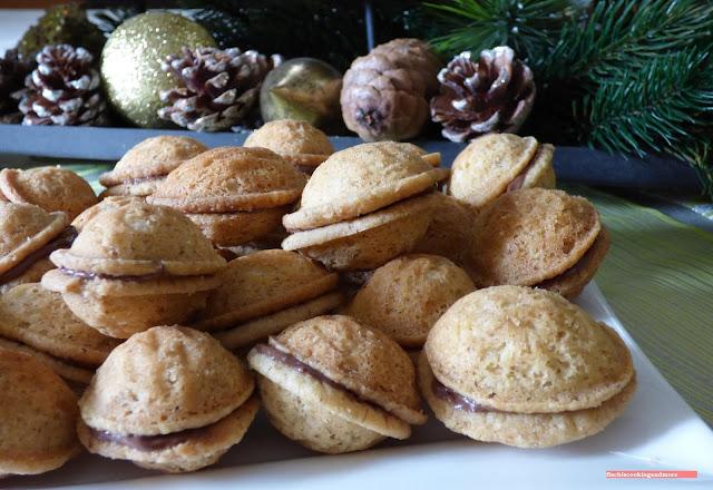 fischiscooking, nüsse, weihnachtskekse