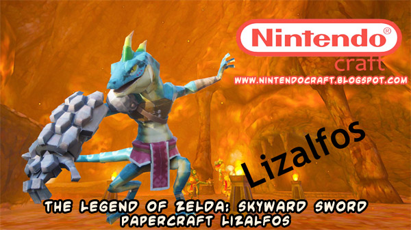 papercraft weblog: D/L #papercraft Legend of Zelda Skyward Sword