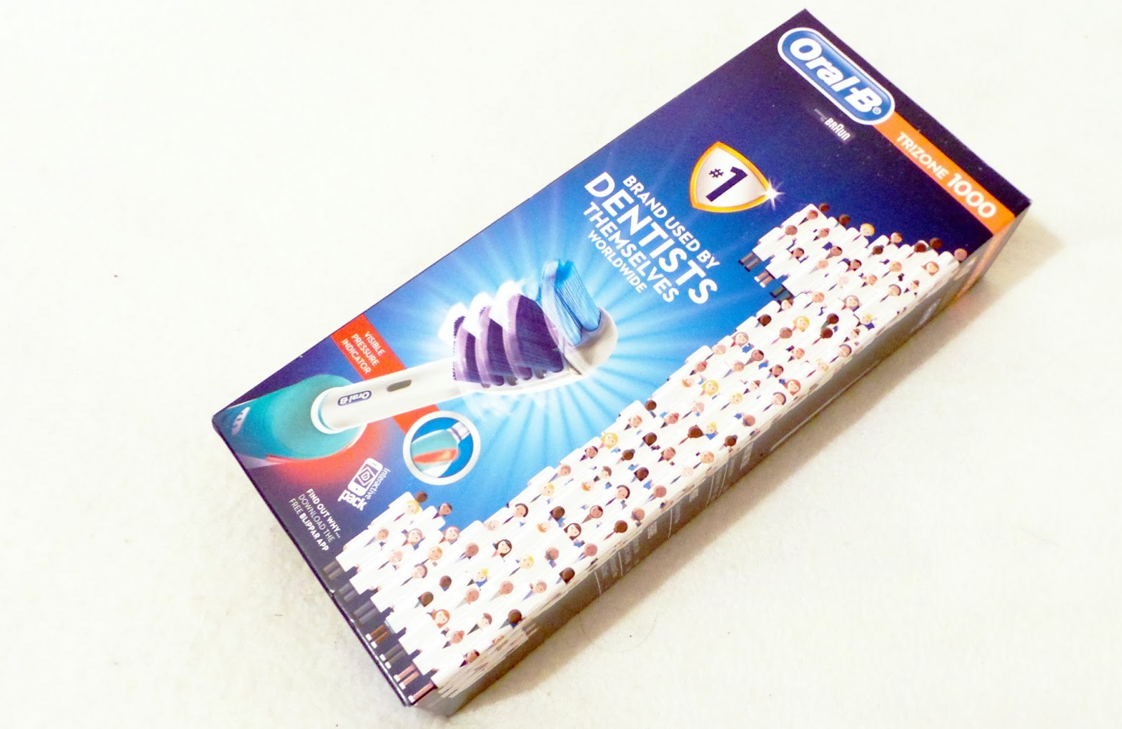 birthday haul blog post - Oral B Trizone 1000 Electric Toothbrush