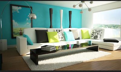 Mengkombinasikan Cat Interior Rumah Minimalis