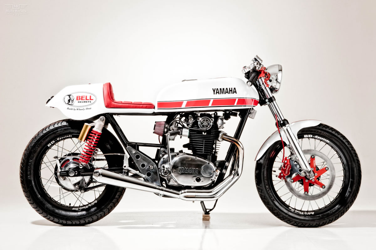 racing caf yamaha xs 650 by wheely shop. Black Bedroom Furniture Sets. Home Design Ideas