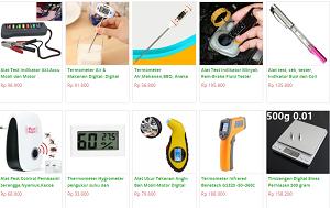 Thermometer & alat Ukur Digital