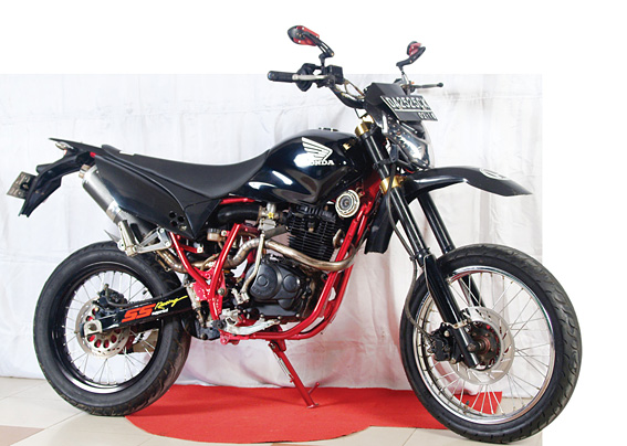 Honda Tiger '08 : Pindah Aliran