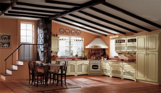 Dapur modern dengan gaya klasik desain dapur elegant accesories - Ala cucine san marino ...