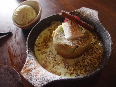 Baked Pistachio Melt & Pandan Ice Cream