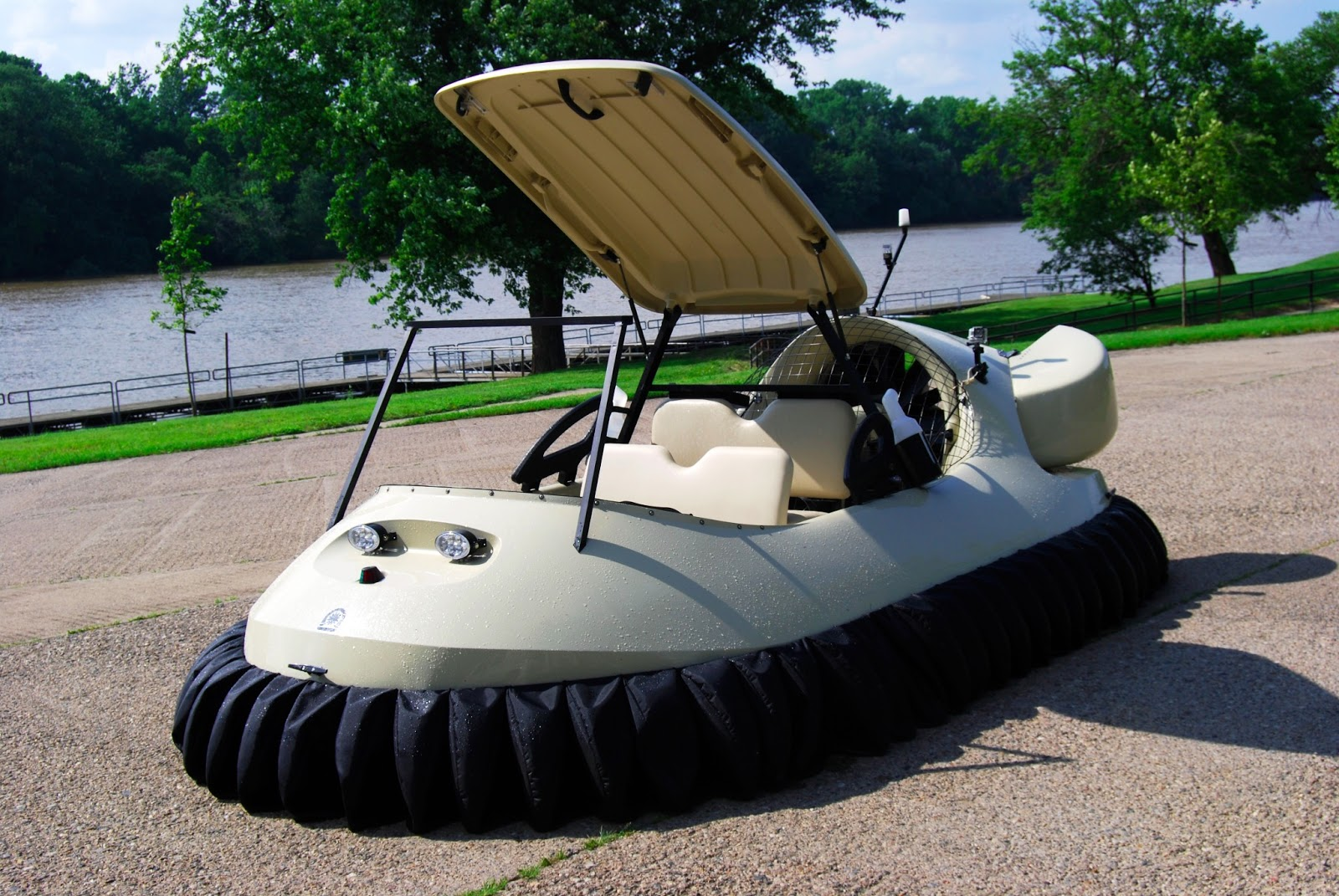 July 2013 ~ Hovercraft Training Centers Hammacher Golf Cart Air Conditioners on