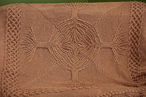 Free Celtic Knot Crochet Afghan Pattern : Celtic Knot Tree Of Life Stencil Images & Pictures - Becuo
