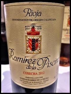 El alma del vino bodegas ram rez de la piscina tinto joven 2012 - Ramirez de la piscina ...