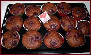 Vişneli Çikolatalı Cupcake tarifi